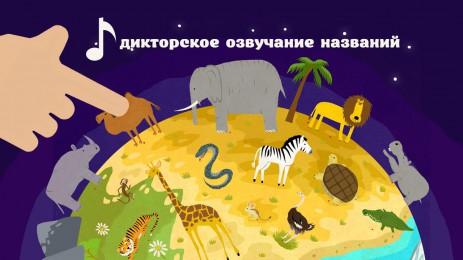 Обучалки: Учим зверей | Android