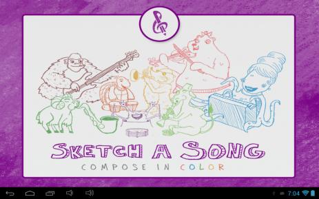 Скриншот Sketch-a-Song Kids