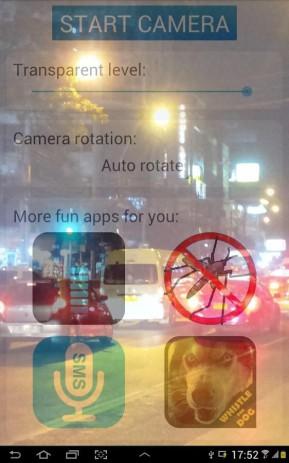 Скриншот Прозрачный Экран Телефона Трюк