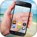 Прозрачный экран телефона HD - icon