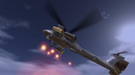 Скриншот ВЕРТОЛЕТ БИТВА: 3D полет
