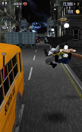 Скриншот Batman & The Flash: Hero Run