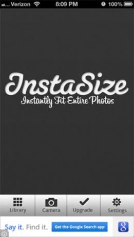 Скриншот полноразмерные фотографии в Инстаграм