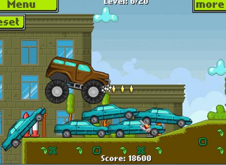 Скриншот Monster Truck Гонка