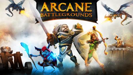 Скриншот Arcane Battlegrounds