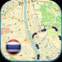 Таиланд Map & Руководства - icon