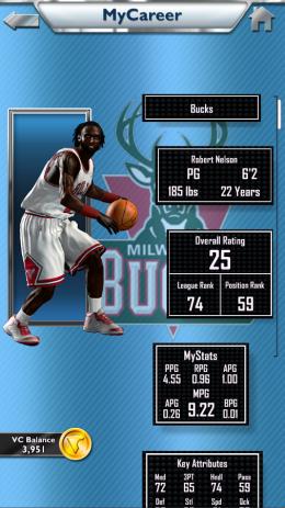 MyNBA2K14 баскетбол мирового уровня | Android