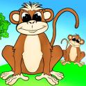 «Веселые животные — развивающие игры для малышей» на Андроид