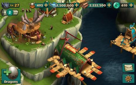 Скриншот Dragons: Rise of Berk