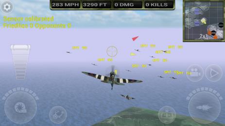 Скриншот FighterWing 2 Flight Simulator