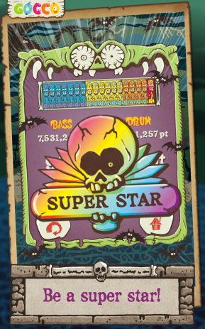 Скриншот Gocco ZomBeat – Music Game