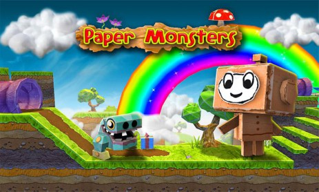 Скриншот Paper Monsters 3d platformer