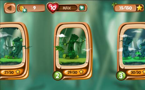 Скриншот Обезьяна Бегущий Игры Бегалки