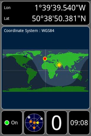 Скриншот GPS Test 2