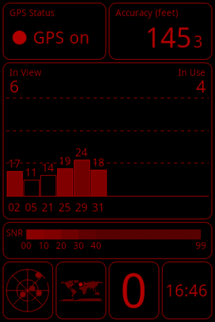 Скриншот GPS Test 5