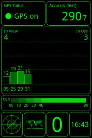 Скриншот GPS Test 6