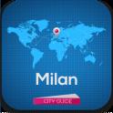 Милан гид отели погода карта - icon