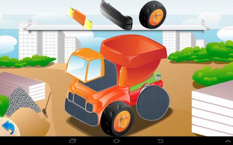 Пазлы машинки для малышей | Android