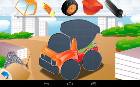 Скриншот Пазлы машинки для малышей