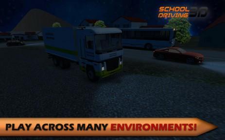 Скриншот Школа Вождения 3D