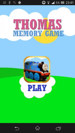 Скриншот Thomas Train Memory Game