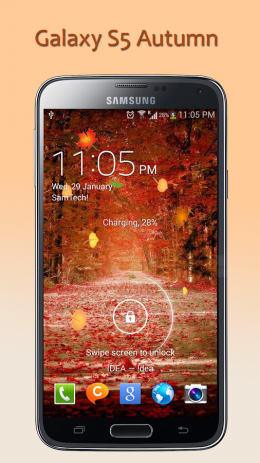 Galaxy S5 Autumn LWP | Android