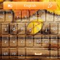 «GO клавиатуры Оранжевый Осень» на Андроид