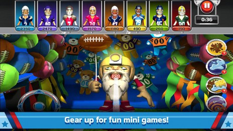 Скриншот NFL RUSH GameDay Heroes
