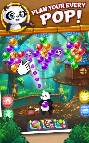 Скриншот Panda Pop