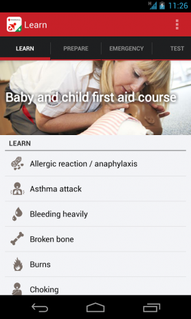 Скриншот Baby and Child First Aid