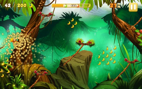Скриншот Benji Bananas Adventures