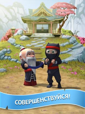 Скриншот Clumsy Ninja