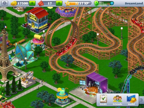 Скриншот RollerCoaster Tycoon® 4 Mobile