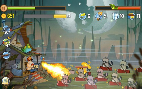 Скриншот Swamp Attack