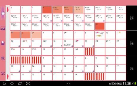 WomanLog календарь | Android