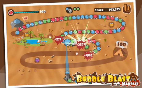 Скриншот Bubble Blast 0