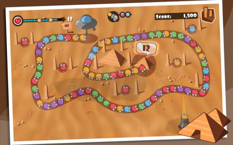 Скриншот Bubble Blast 1