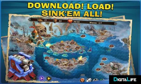 Fort Defense Saga: Pirates | Android