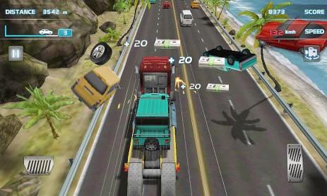 Скриншот Быстрый ураган гонки 3D