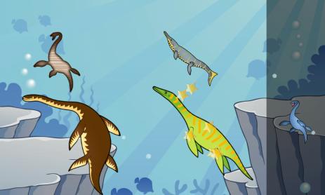 Скриншот Динозавры игры для детей