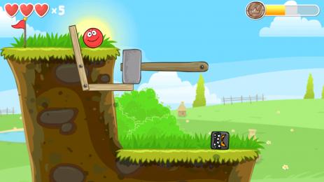 Скриншот Red Ball 4