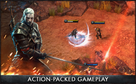 Скриншот The Witcher Battle Arena