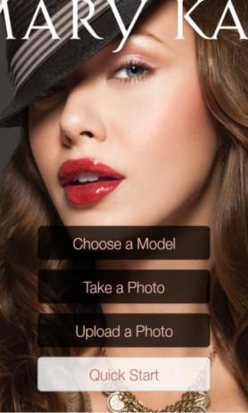 Скриншот Виртуальный макияж Mary Kay®