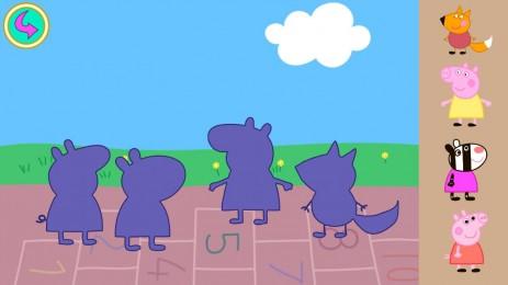 Свинка Пеппа детские пазлы | Android