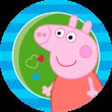 «Свинка Пеппа детские пазлы» на Андроид