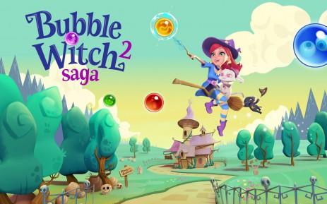 """Poster <span lang=""""ru"""">Bubble Witch 2 Saga</span>"""