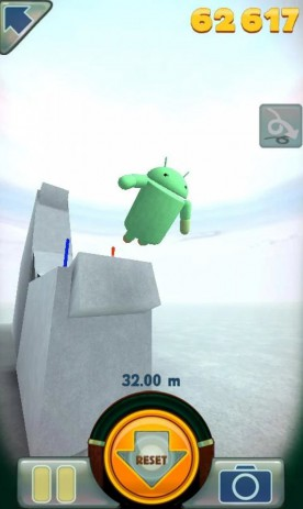 Скриншот Stair Dismount