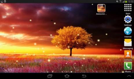 Скриншот Awesome Land – живые обои