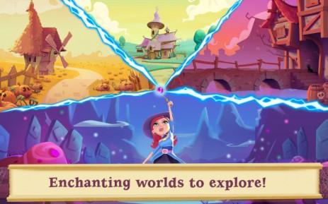 Скриншот Bubble Witch 2 Saga