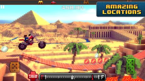 Скриншот Blocky Roads